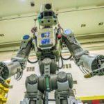 Россия запускает в космос робот натурального размера