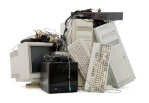 Утилизация ненужной компьютерной техники.